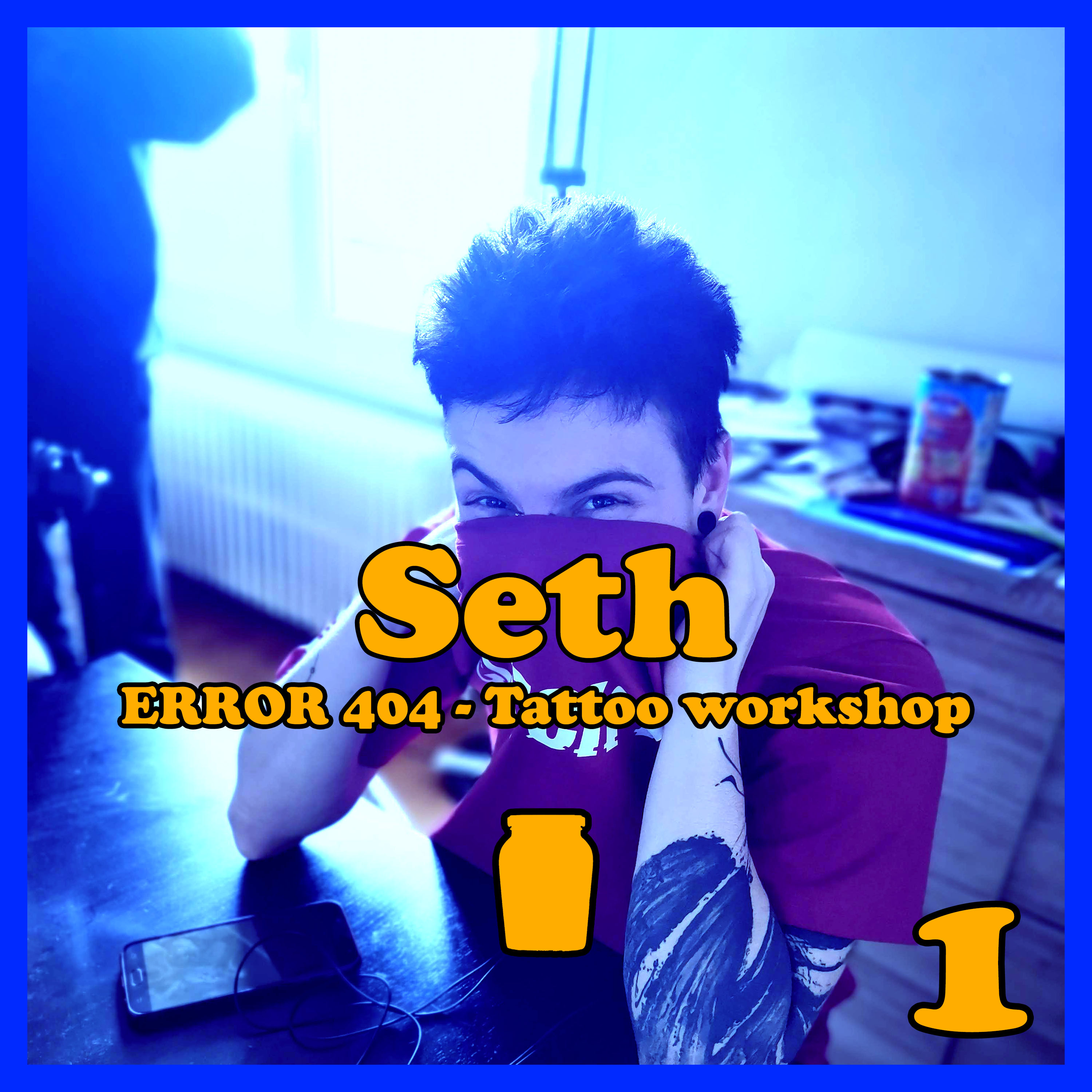 Moutarde Maximum #01 – Seth – Error 404 Tattoo Workshop