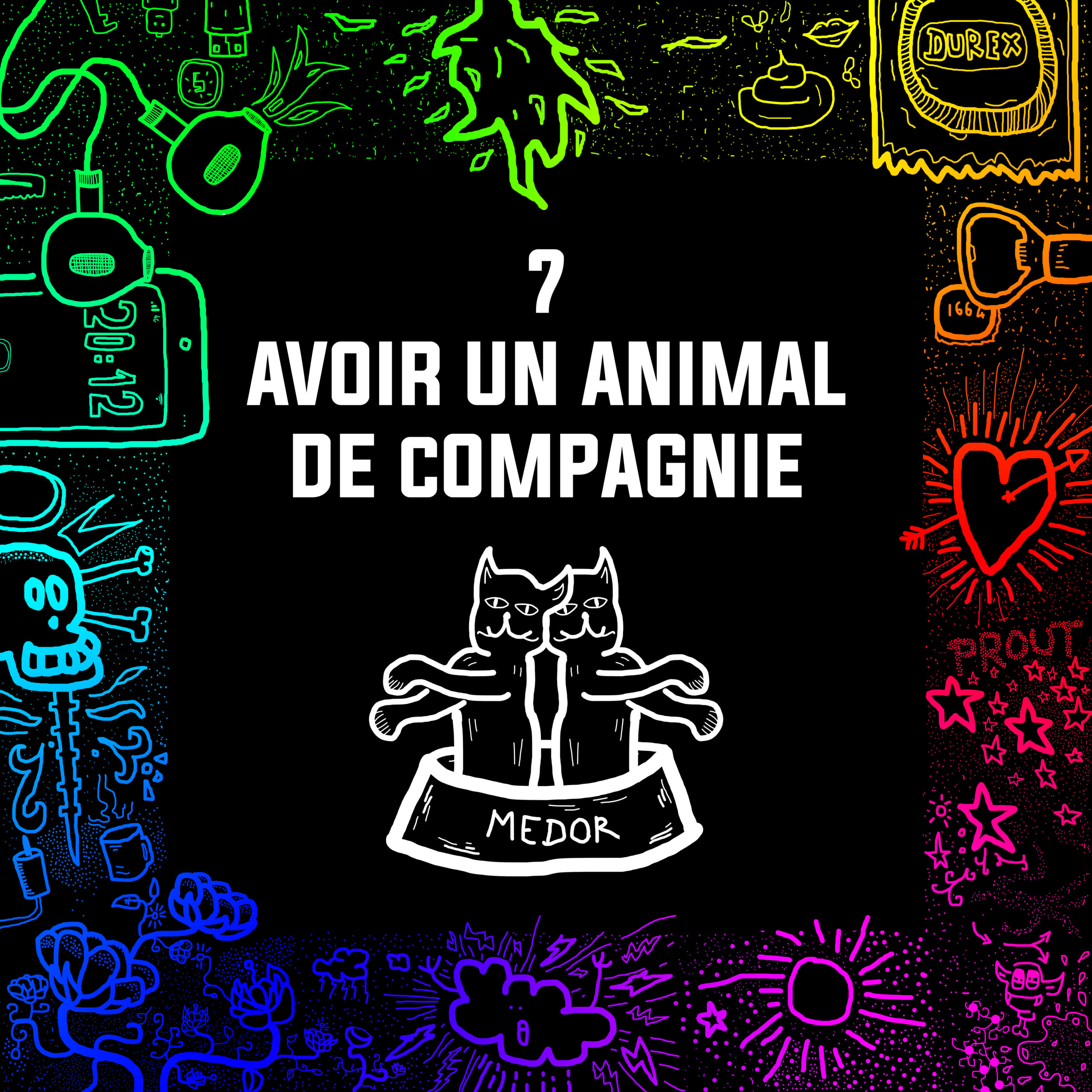 #07 – Avoir un animal de compagnie
